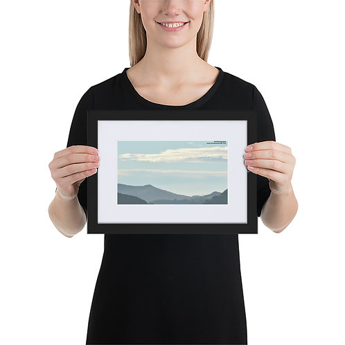 Southern Coasts Matte Paper Framed Poster With Mat