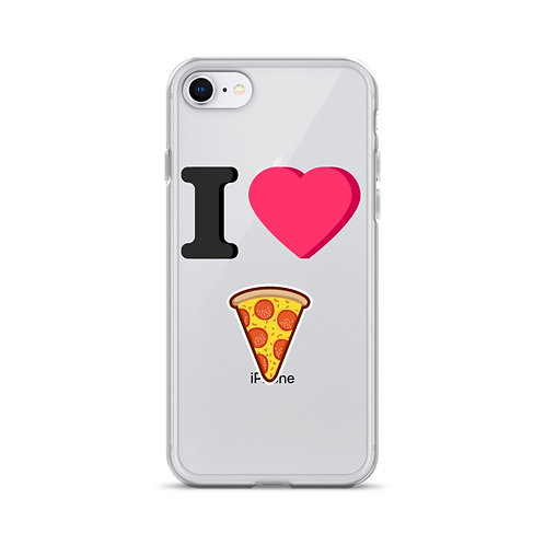 I Heart Pizza iPhone Case
