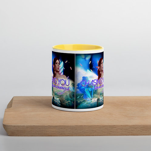 Chasing You Mug with Color Inside