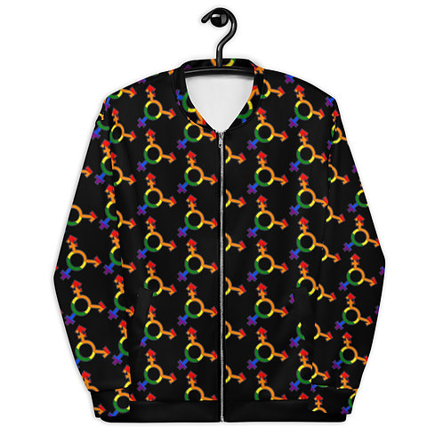 LGBTQIA+ Unisex Bomber Jacket