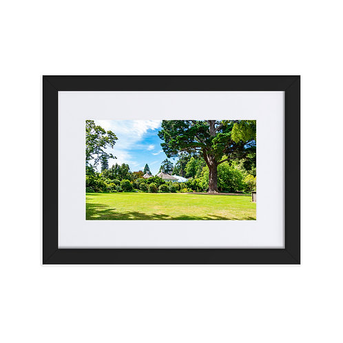 Southern Charm Matte Paper Framed Poster With Mat
