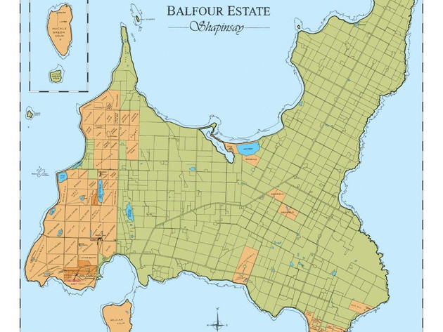 Shapinsay, Estate Map