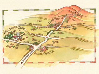 Westons, How-To-Find-Us Map