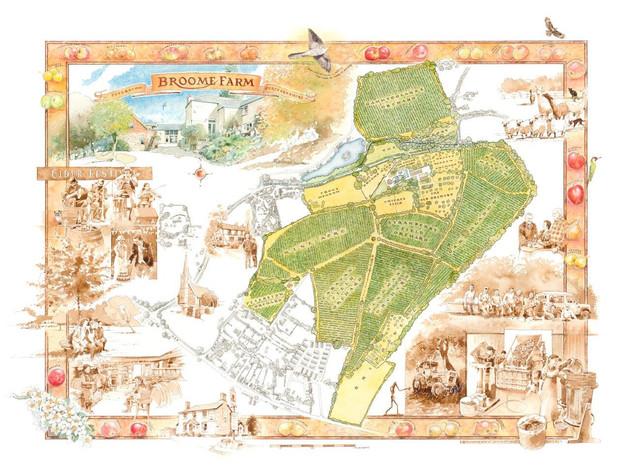 Cider Farm Map