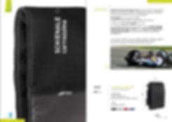 Schienale carrozzina con la stessa tecnologia del cuscino da handbike de campioni