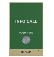 BAS-IP: Individual Panel; Flush or wall mount; Green
