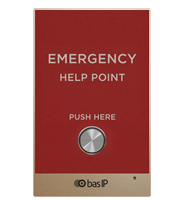 BAS-IP: Individual Panel; Flush or wall mount; Red