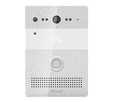 BAS-IP: Multi-apartment panel; Silver