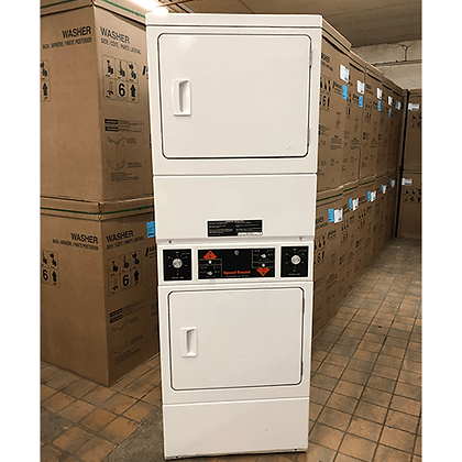 SPEED QUEEN STACK ELECTRIC OPL DRYER
