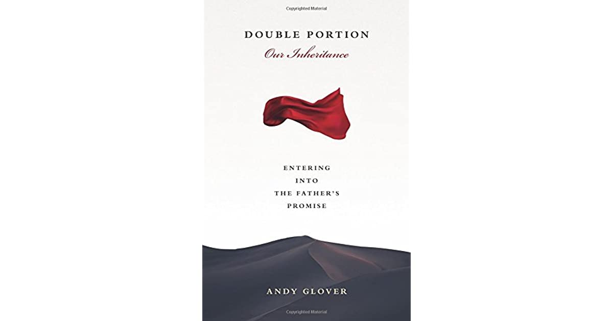 Book Logo Double Portion Andy Glover