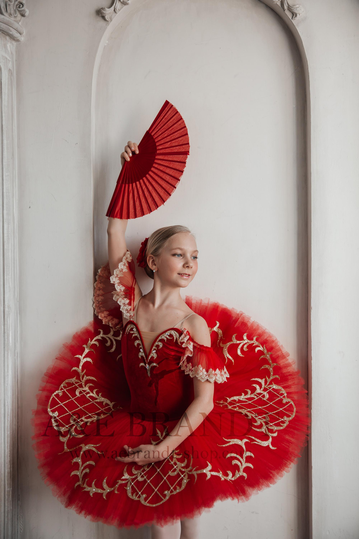 Golden Kitri Don Quixote Ballet Girl Tut