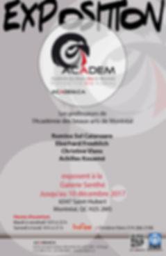 Académie des Beaux-Arts de Montréal|ACADEM|Exposition de professeurs de peinture et dessin