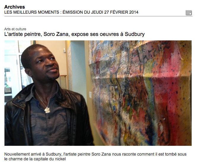 Soro Zana - Artiste Peintre - Sculpteur