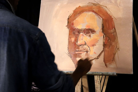 Le portrait à l'huile / Construction et mise en valeur. Démonstration par Achilles Kouamé / ACADEM