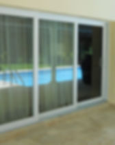 pgt sliding glass door impact 3 panel