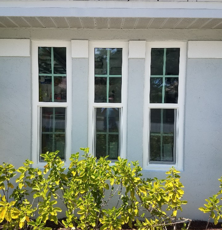 pgt impact window with praire grids