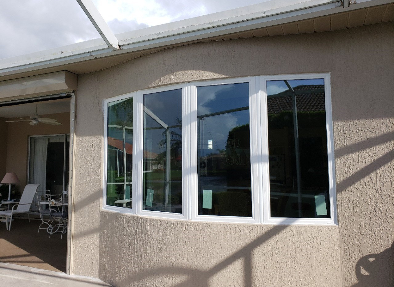 custom bay window mulled unit vinyl