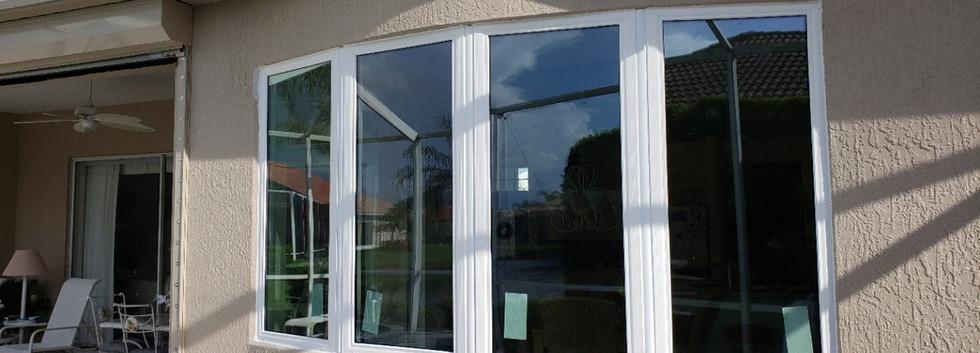 custom bay window mulled unit vinyl