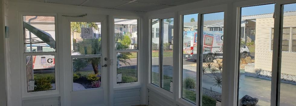 non impact glass lanai replacement windows