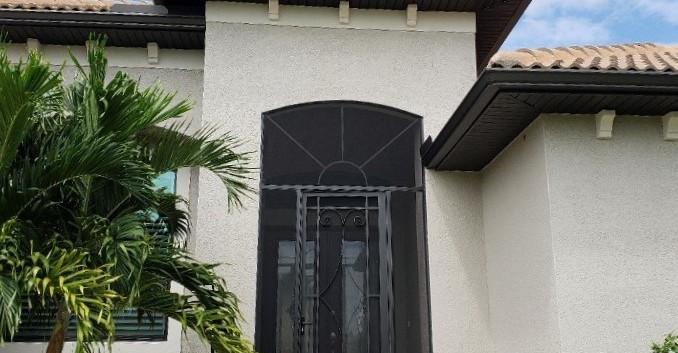 double door front screen enclosure punta gorda FL