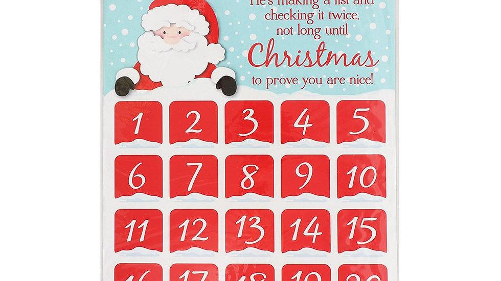 Christmas Countdown Reward Chart