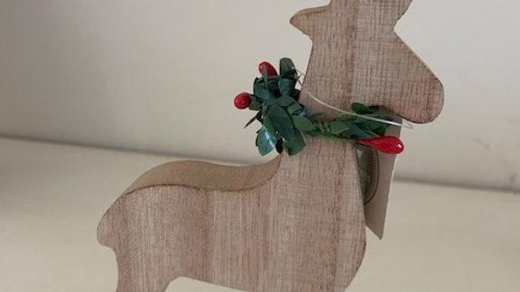 Wooden Rudolph