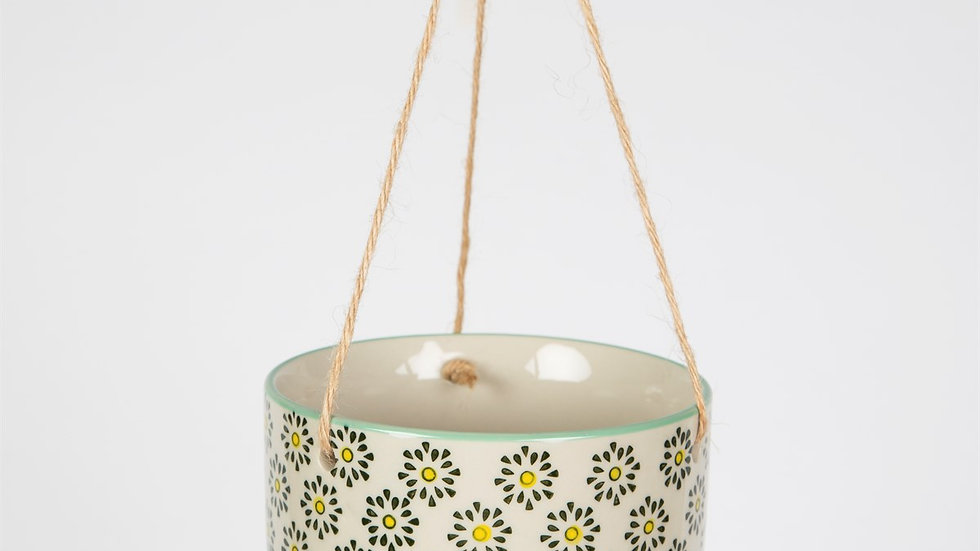 Sass & Belle Ria Hanging Basket - Daisy