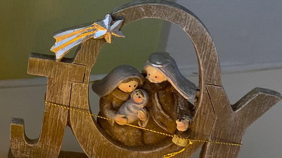 Nativity Joy decoration