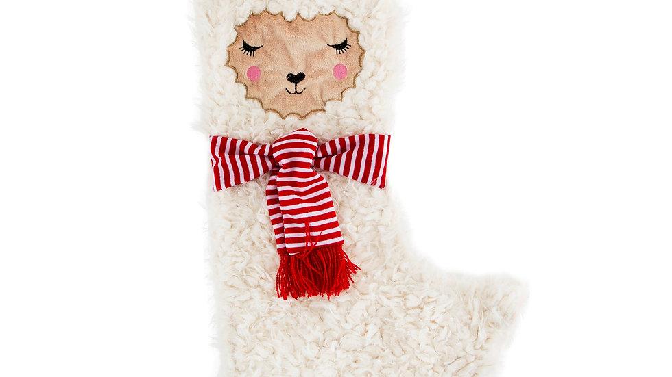 Sass & Belle Fa La La Llama Christmas Stocking
