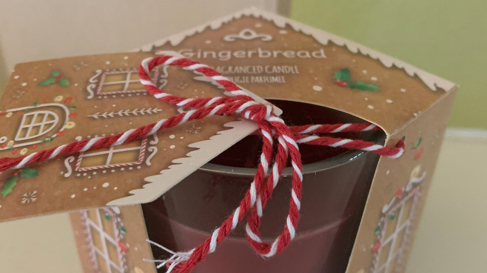 Gingerbread House candle pot