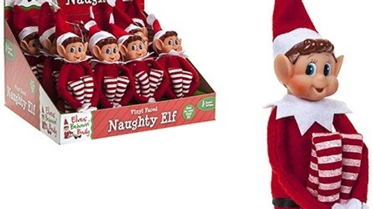 Naughty Elves Soft Toy