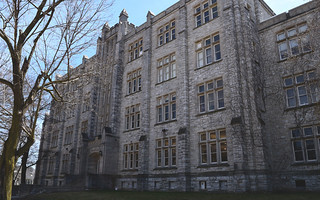 Miller Hall, home of the museum, on Queen's campus in Kingston, Ontario