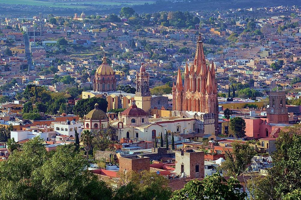 San Miguel De Allende, Mexico (from Google)