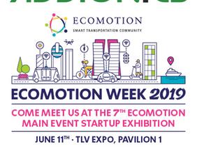 Addionics at Ecomotion Main Event 2019
