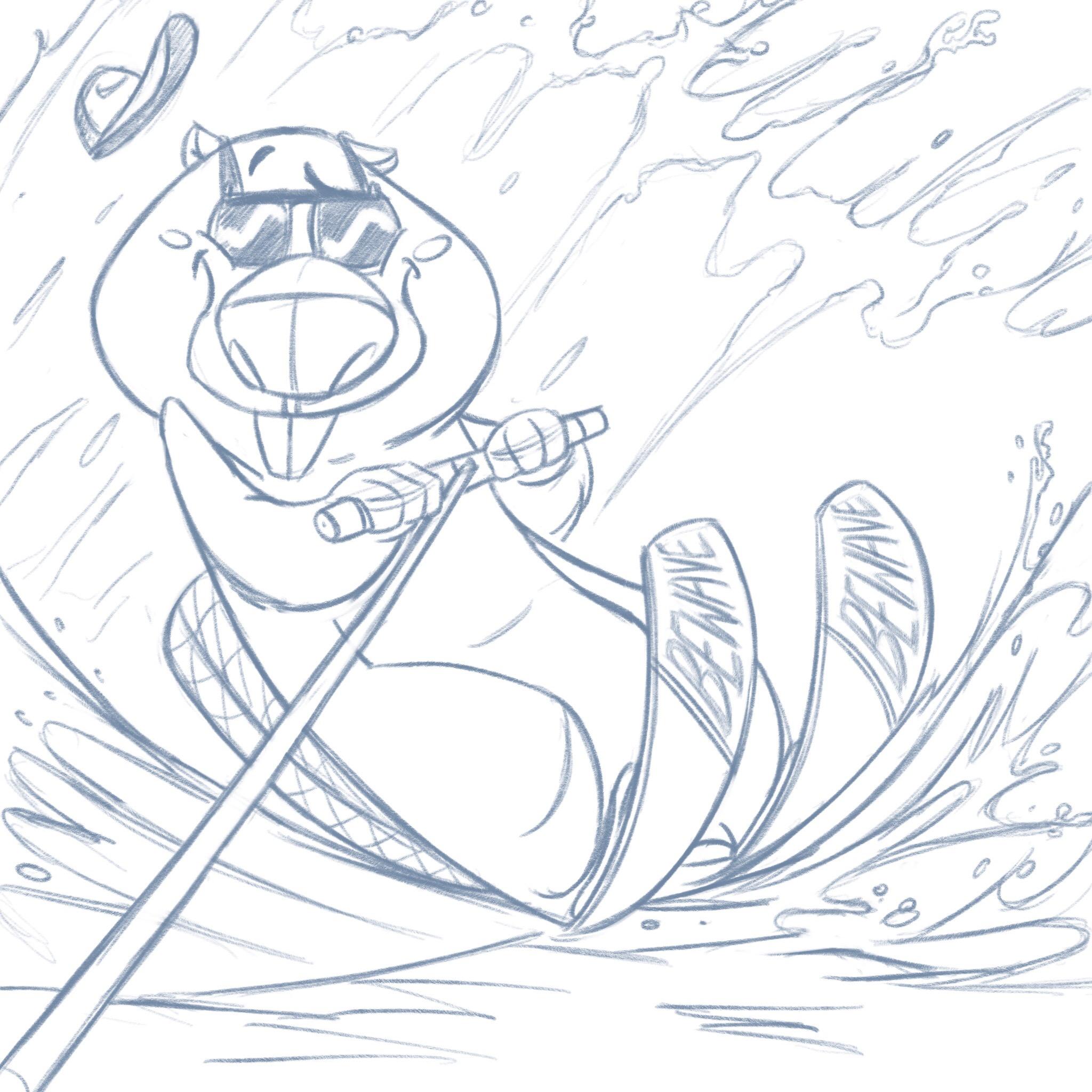 Holiday's beaver