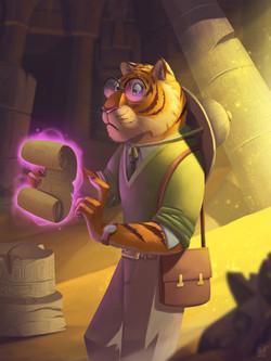 Archeologist Tiger