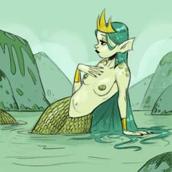 random mermaid