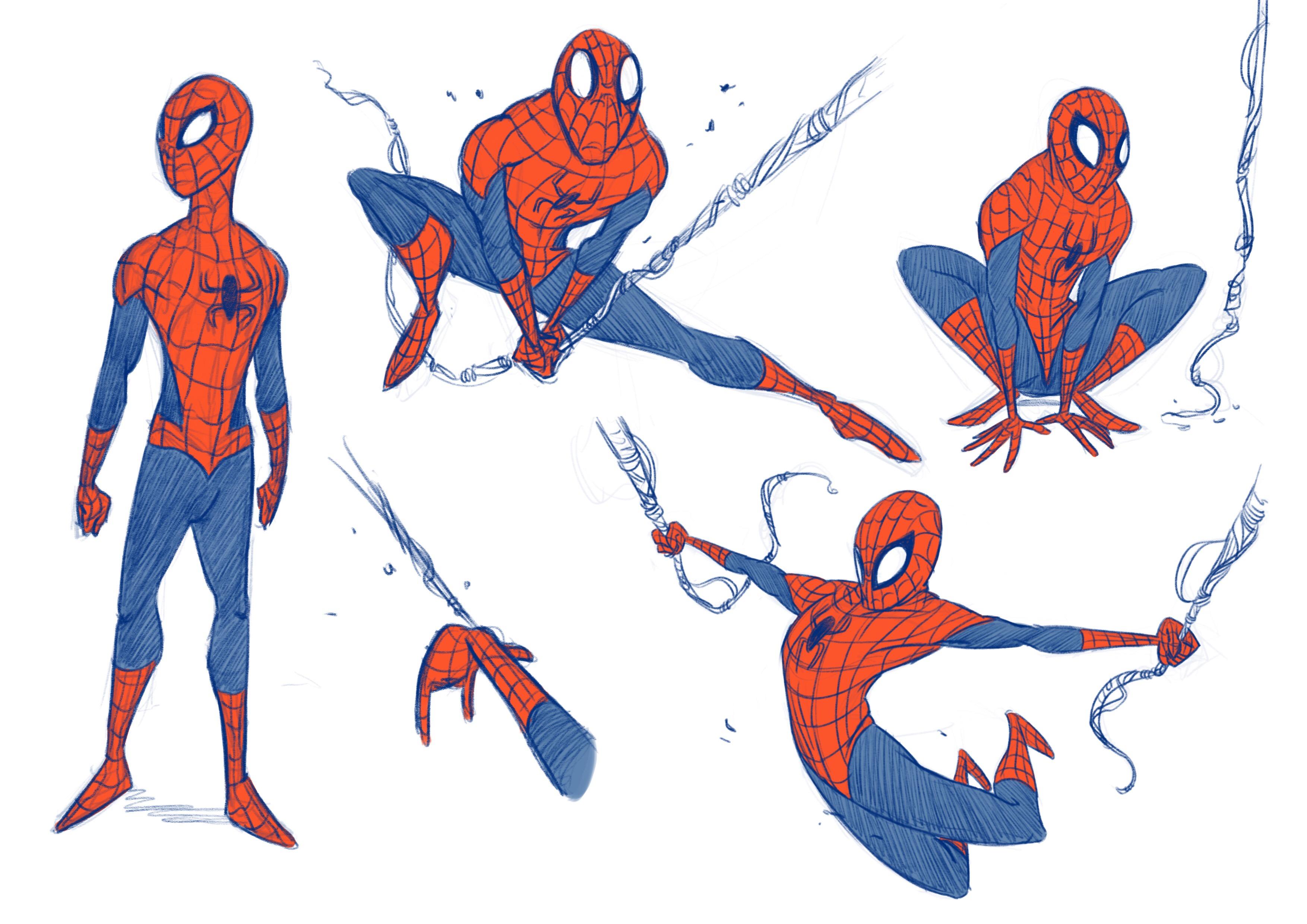 Spider-man Sketches