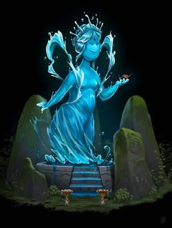AQUA MAMA, guardian of the Deep Forest R