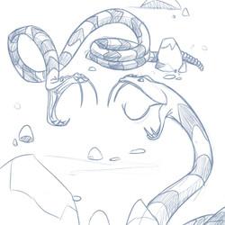 Rattlesnake dueling