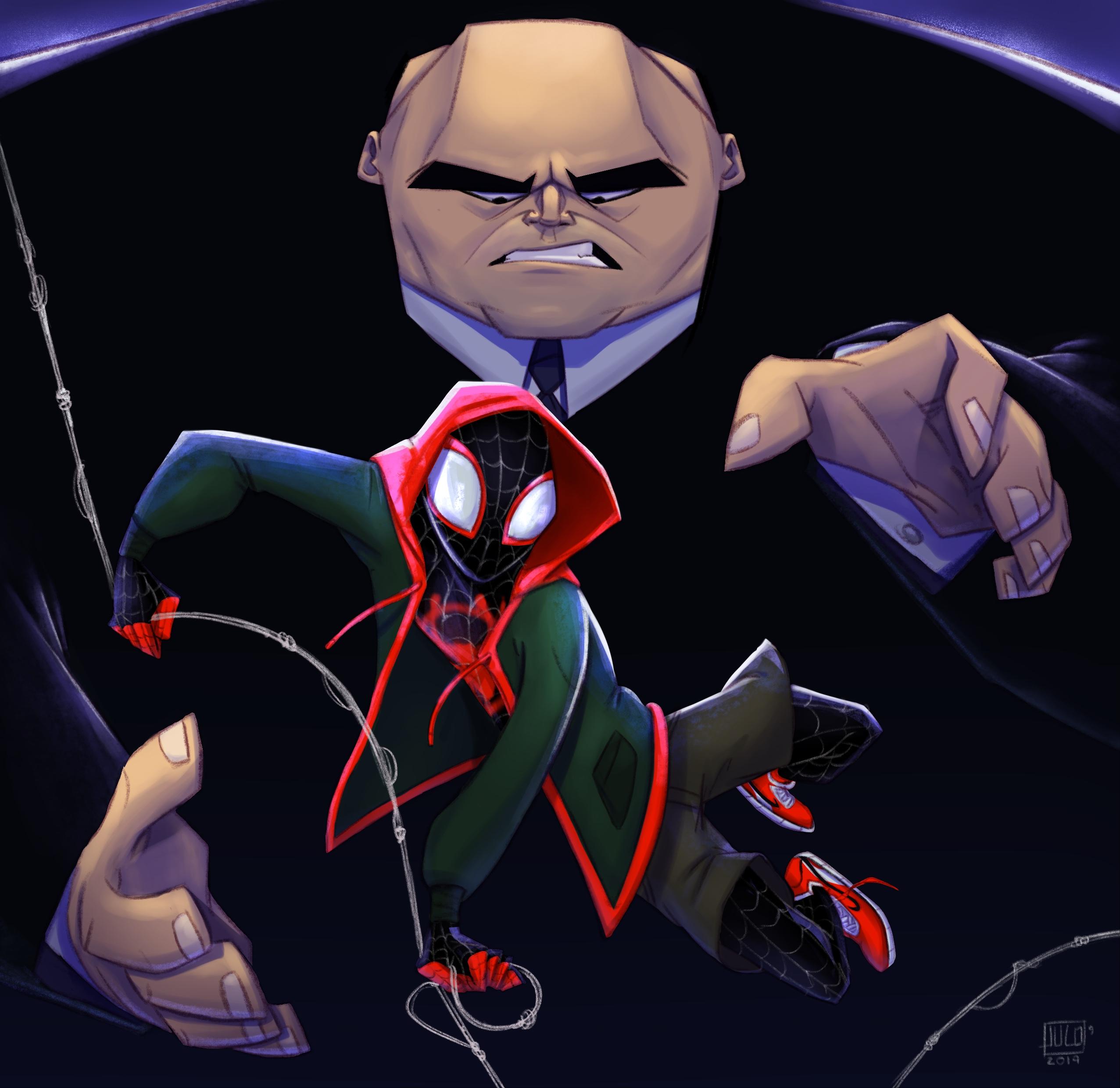 Spider-verse tribute