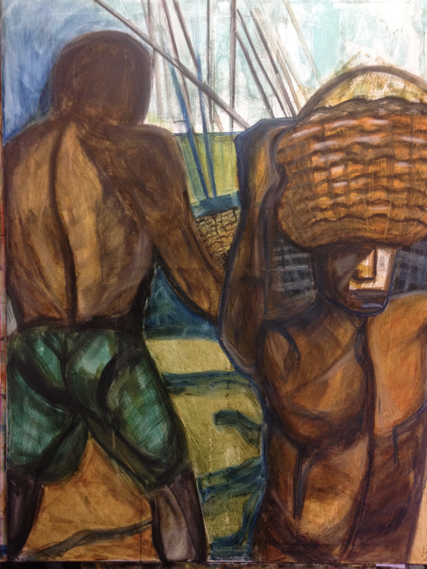 Lagos, Fishermen ©