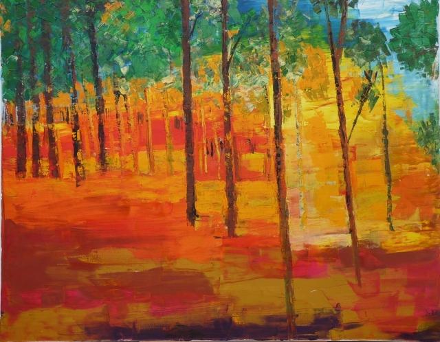 trees Ben Shemen forest ©