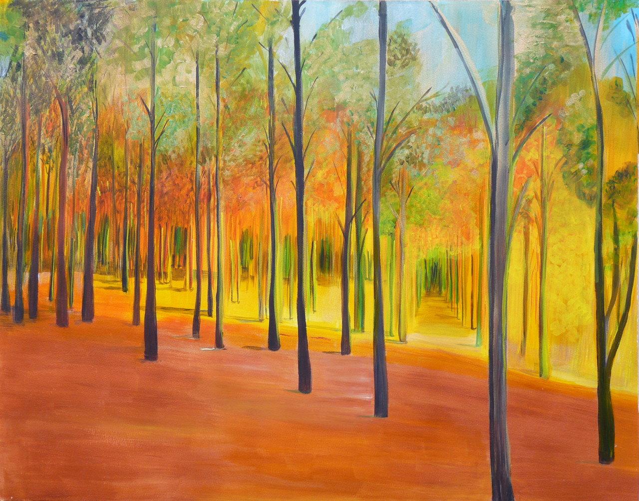 trees-watercolour ©