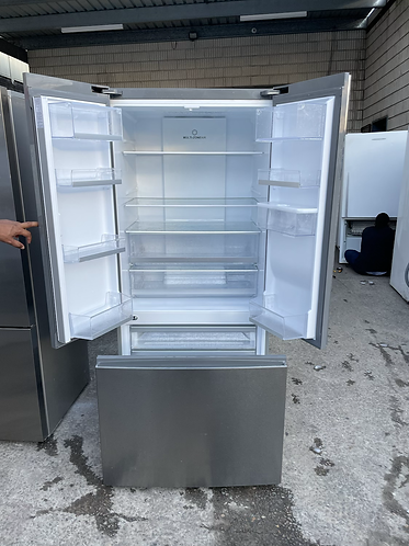 HAIER 515 LITRES FRENCH DOOR FRIDGE FREEZER .