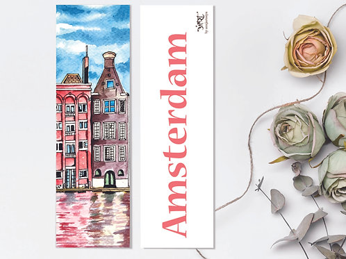 Amsterdam Bookmark