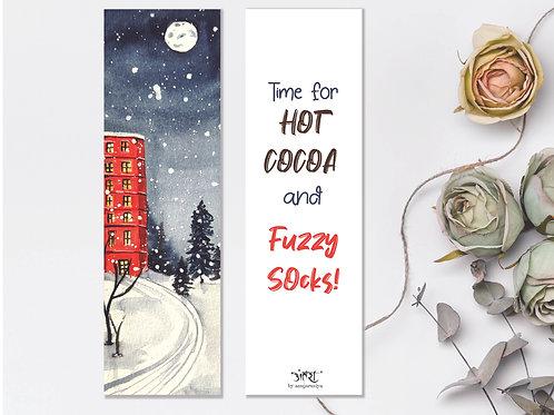 Fuzzy Socks Bookmark