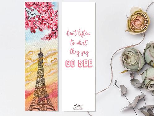 Eiffel Bookmark
