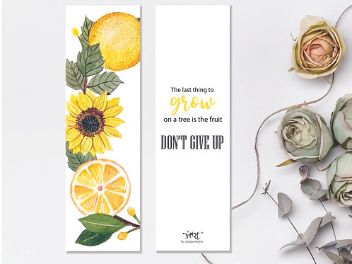 Lemon Bookmark