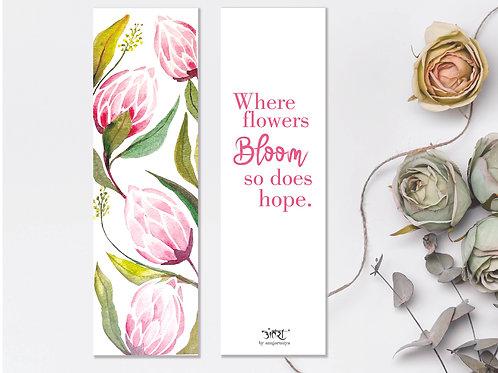 Protea Bookmark